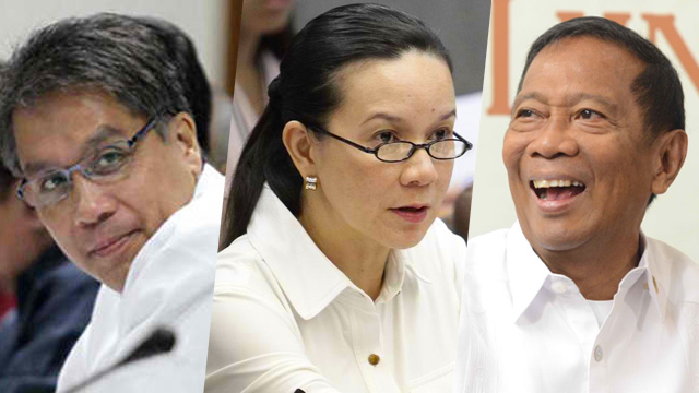 Mar is probably the most business-friendly of the bunch, though he is no entrepreneur. Jojo will find it hard to claim to be an entrepreneur because it runs counter to the narrative that he didn't get rich off Makati. I don't believe Grace had any business experience at all. Photo credit: Rappler.com